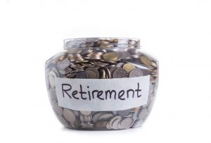 40585182 - retirement savings money in jar