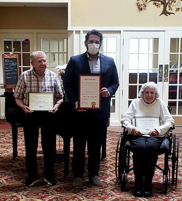 Lifetime Achievement Recognition