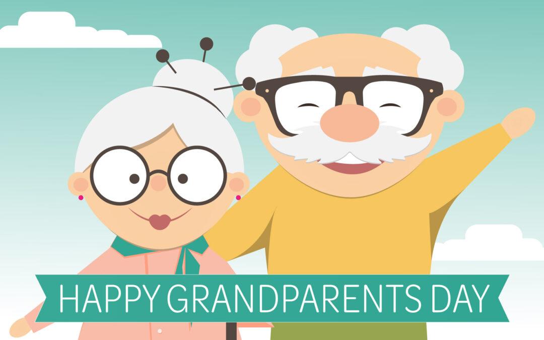 Grandparents Day: Sunday, September 12th