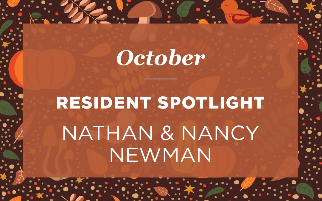 """Mr. Nathan """"Nat"""" and Nancy Newman"""